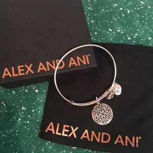 Alex and Ani Silver 2016 Endless Knot Bracelet